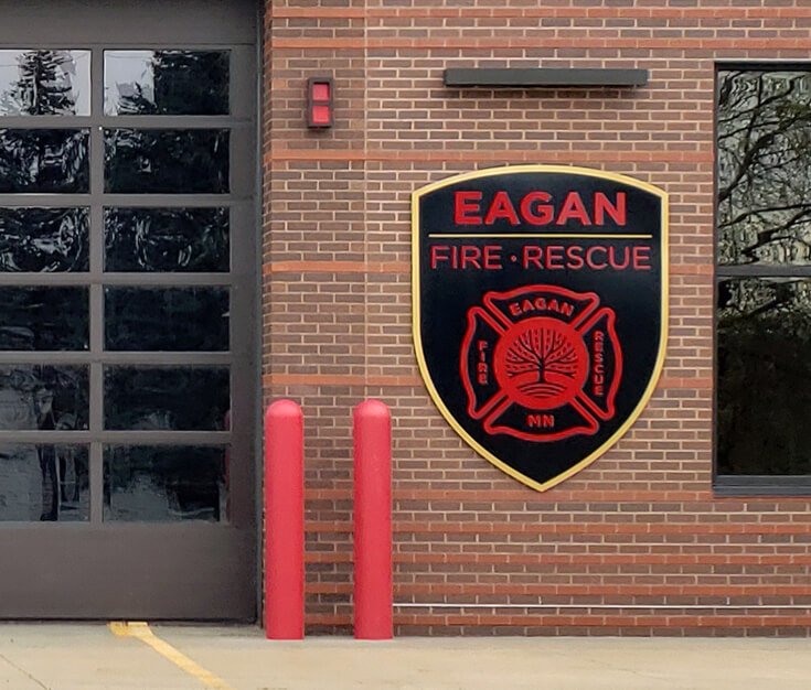 Eagan Fire and Rescue Exterior Signage Eagan MN