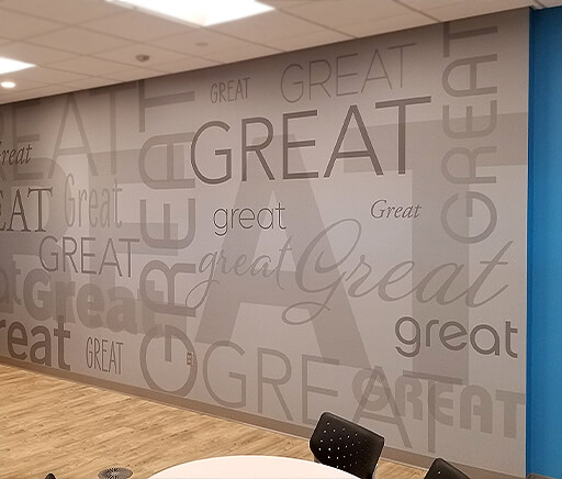 Great Clips Corporate Office Wall Mural